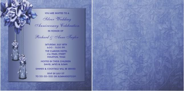 25th Wedding Anniversary Invitations and Celebrations Tips and Ideas – Invitation Cards for 25th Wedding Anniversary
