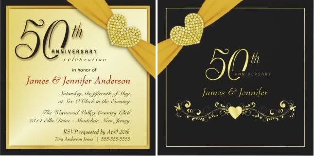 50th Wedding Anniversary Invitations Ideas Wedding Invitation Ideas – Wording for 50th Wedding Anniversary Invitations