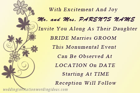 Wedding Invitation Wording Ideas Just another WordPress site – Funny Wedding Invitation Wording Ideas