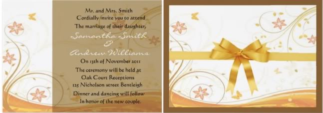 fall wedding invitations, fall invitation wedding