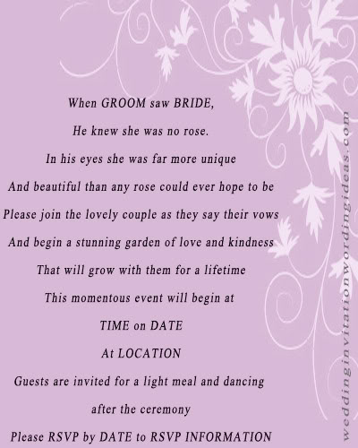 wedding invitation quotes - photo #26