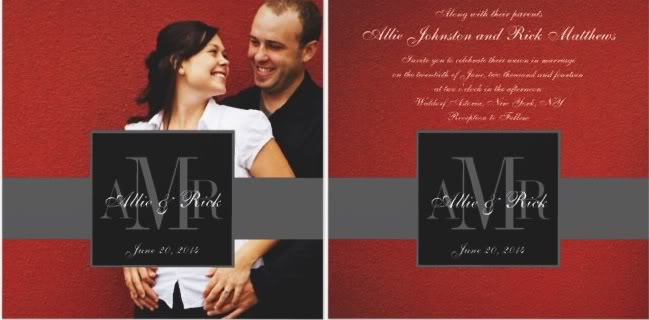 photo wedding invitations, vellum photo wedding invitations