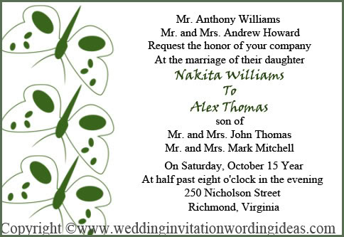 Traditional Wedding Invitation Wording How To Write – Traditional Wedding Invites Wording