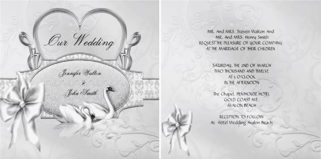 Traditional Wedding Invitation Templates: Honeyfund Wording For Invite