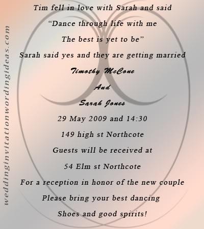 Different Wedding Invitation Wording : Unique Wedding Invitation Wording Tips and Ideas