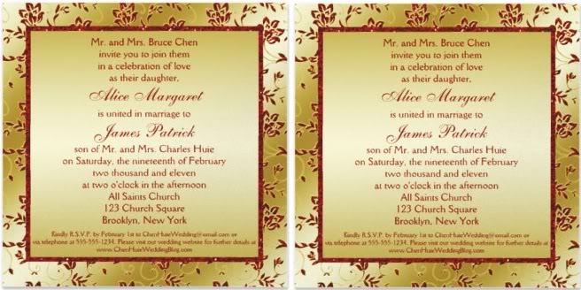 Unique Wedding Invitation Samples: Wedding Invitation Wording Ideas