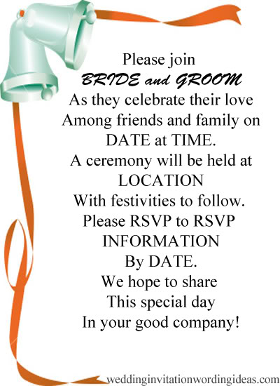 Peachy Wedding Invitation Format Examples Personalised Birthday Cards Paralily Jamesorg