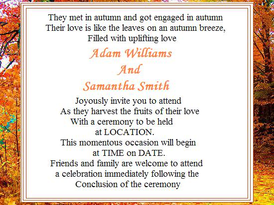 Wedding Invitation Wording Ideas: Wedding Invitation Wording Ideas