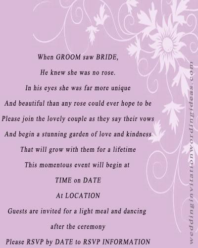 Wedding invitation etiquette wedding invitation examples for Wedding invitation etiquette engaged couple