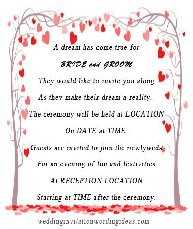 mordern wedding invitation wording, mordern wedding invites
