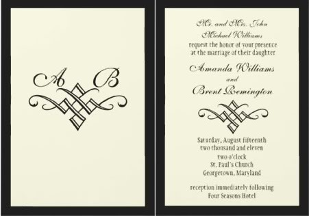 traditional wedding invites, non traditional wedding invitations