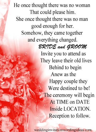 Wedding Invitation Wording – How To Write Perfect Wedding Invites